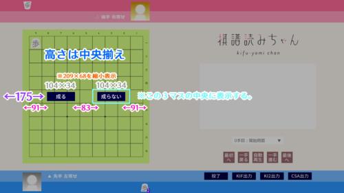 棋譜読みちゃん グラフィック配置図2
